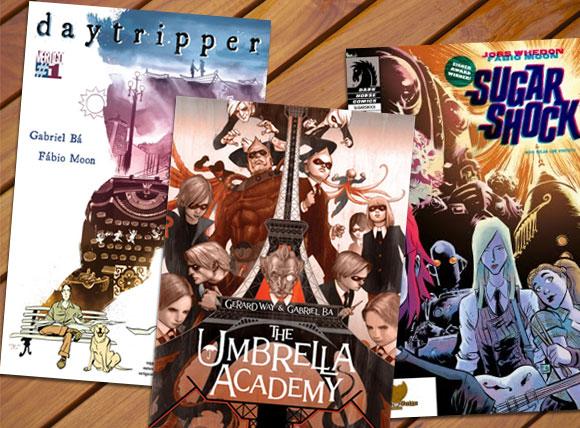 Daytripper, American Vampire e The Umbrella Academy