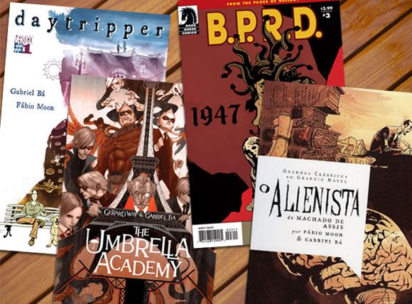 Daytripper, The Umbrella Academy, O Alienista e BPRD-1947