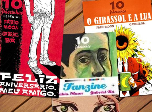 Feliz Aniversário meu amigo, Fanzine e O Girassol e a Lua