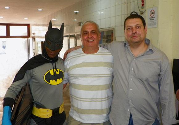 Batman, Mazinho e John Calvet na Comicmania 2011