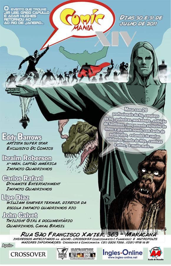Comicmania 2011 - 30 e 31 de julho no Rio de Janeiro