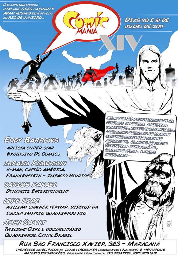 Comicmania 2011 Rio de Janeiro - 14ª Convenção Internacional de HQs