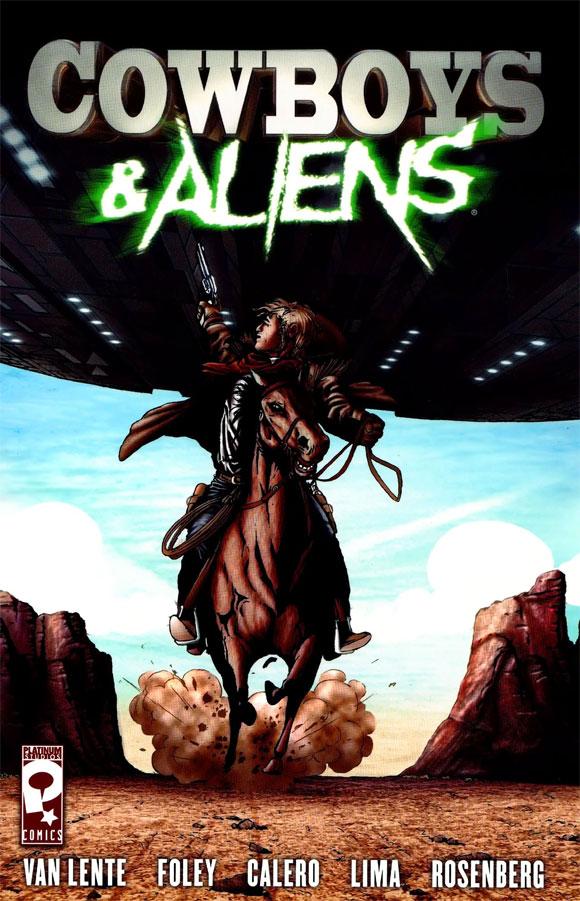 Cowboys e Aliens chega as bancas pela editora Record.