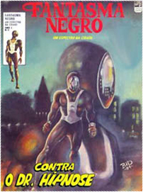 Fantasma Negro 1984 - editora Tálamus
