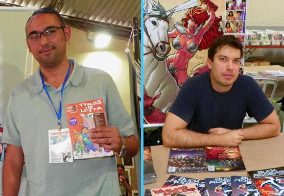 Rodrigo Miguel e Carlos Rafael no Comicmania 2011