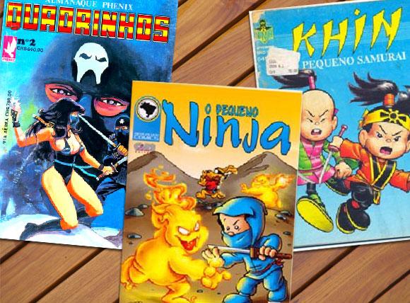 O pequeno ninja, Almanaque phenix e Khin
