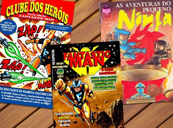 Clube dos heróis, Fantastic man e As aventuras do pequeno ninja