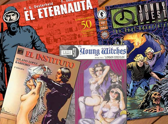 El Eternauta, El Instituto, Young Witches e Jonny Quest