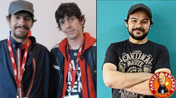 Fábio Moon, Gabriel Bá e Rafael Albuquerque levam mais um prêmio, o Harvey Awards.