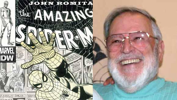 Edição especial com Homem Aranha de John Romitas Sr.