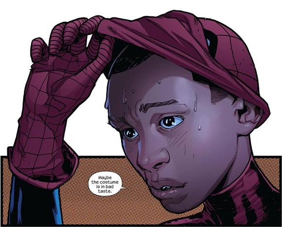 Miles Morales é o novo homem aranha.