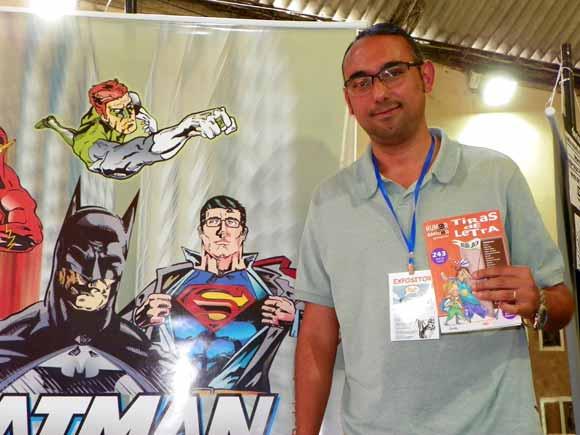 Rodrigodraw na Comicmania 2011