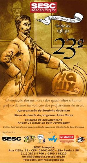 cartaz do Prêmio HQ Mix