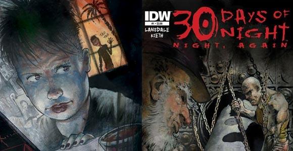 IDW 30 dias de noite