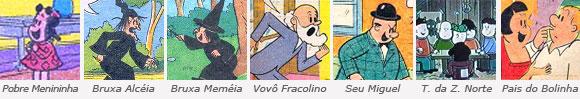 Personagens da luluzinha - parte 3