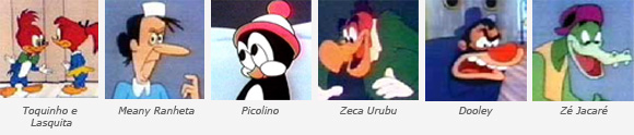 personagens do Pica-pau