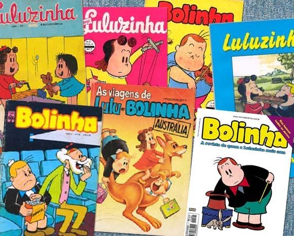 Revistas do Bolinha e da Luluzinha