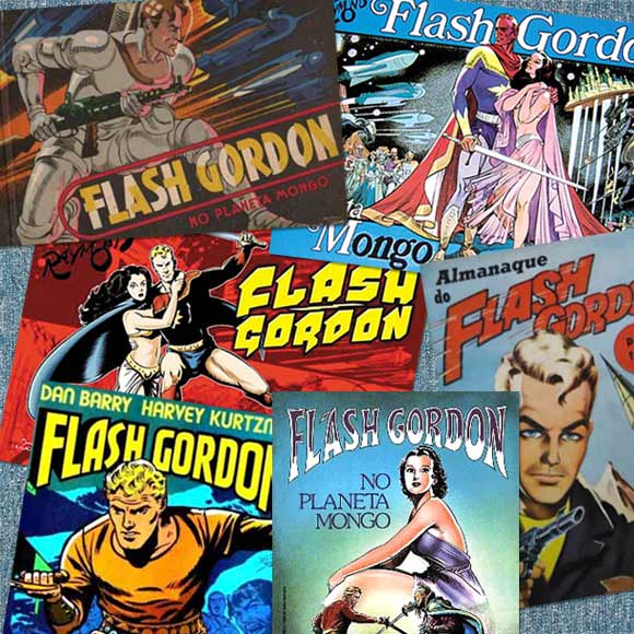 Revistas do Flash Gordon
