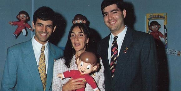 Ridaut Dias Jr., Viviane Senna e Rogério Martins