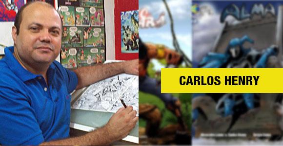 Carlos Henry, o criador de Lobo Guará