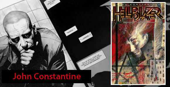 Panini lança primeiras aventuras de John Constantine
