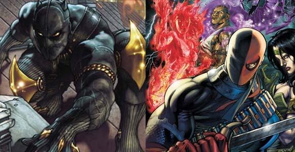 A Marvel Comics divulgou algumas novidades para as revistas Black Panther, Villains for Hire e The Twelve, durante a San Diego Comic-Con.