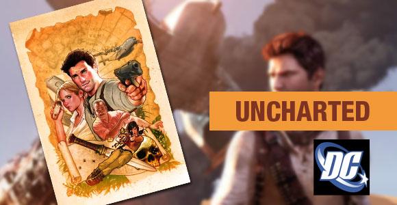 Uncharted pela DC Comics