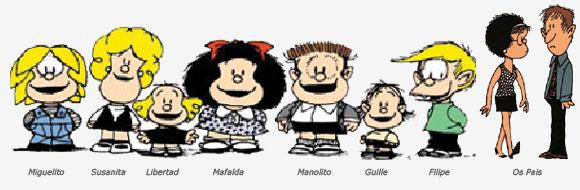 Personagens Mafalda