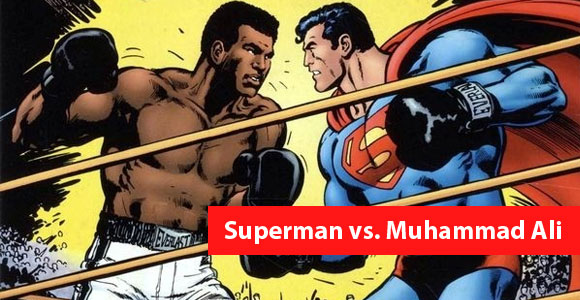 Superman vs Muhammad Ali