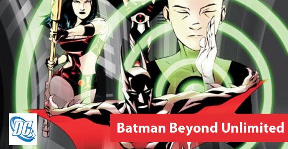 Batman Beyond Unlimited será lançada em fevereiro de 2012