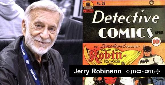 Jerry Robinson (1922 - 2011)