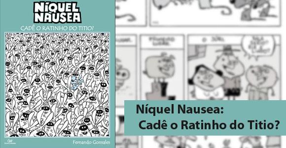 Níquel Náusea em nova coletânea de tiras