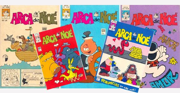 Revistas da Arca de Noé publicadas no Brasil