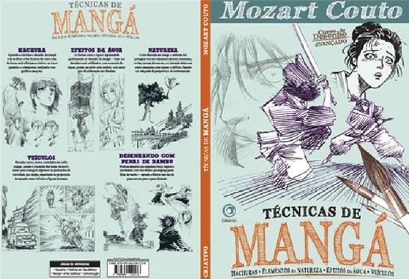 Técnicas de mangá