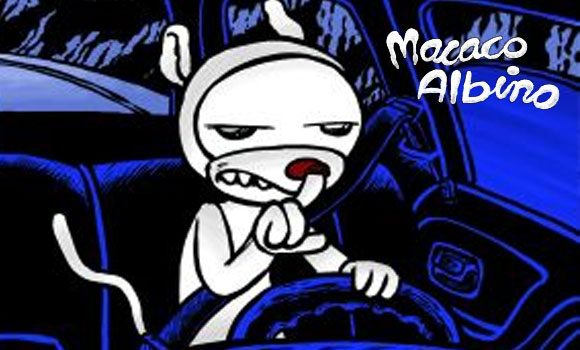 Macaco Albino