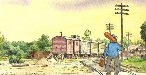 Jano assina desenhos de animação sobre Robert Jjohnson