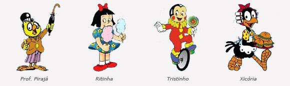 personagens lambe-lambe
