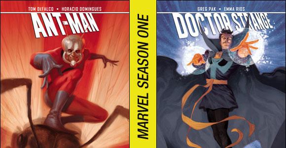 Antman e Doctor Strange - Season One