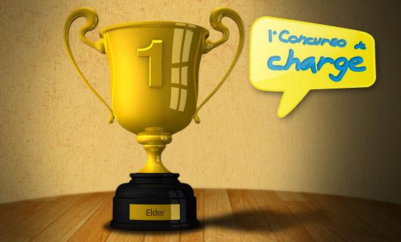Concurso de charge - vencedor