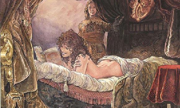 Milo Manara - contos eróticos