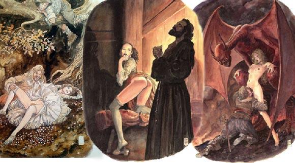 Milo Manara e Jean de la Fontaine