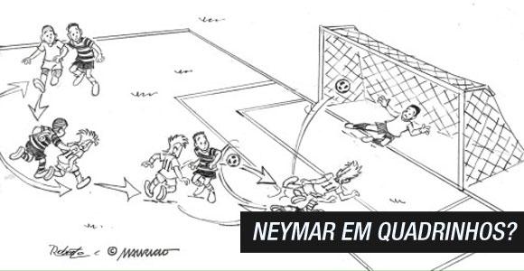 Neymar em quadrinhos