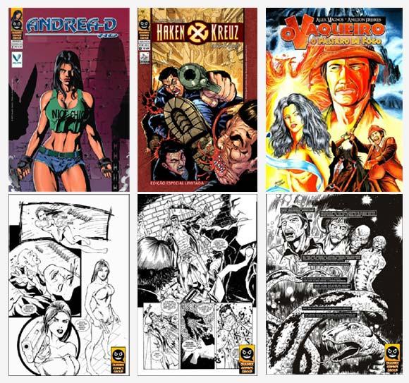 Lançamentos Quadrix Comics