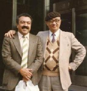 Mauricio de Sousa e Osamu Tezuka