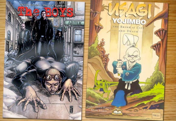 The boys e Usagi Yojimbo