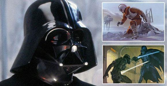 Darth Vader; Star Wars; McQuarrie