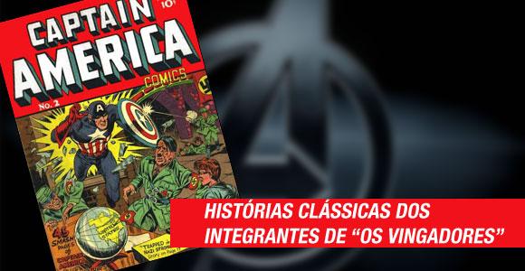 Panini publica coletâneas de histórias clássicas dos integrantes dos Vingadores