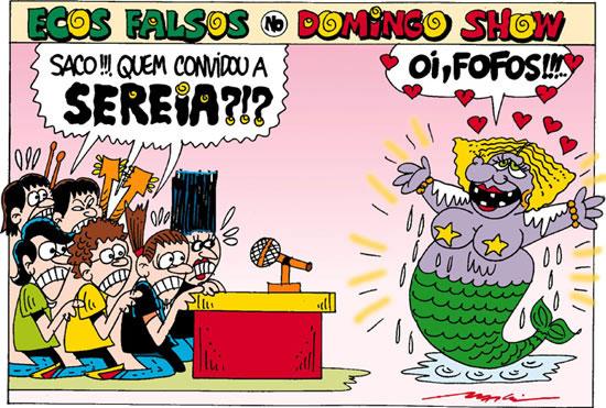 A banda Ecos Falsos nas mãos do Márcio Baraldi