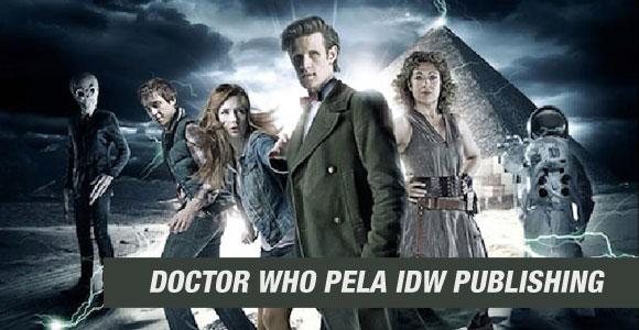 IDW Publishing lançará nova série em quadrinhos de Doctor Who