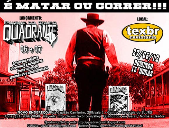 Fanzine do Grupo Quadrante